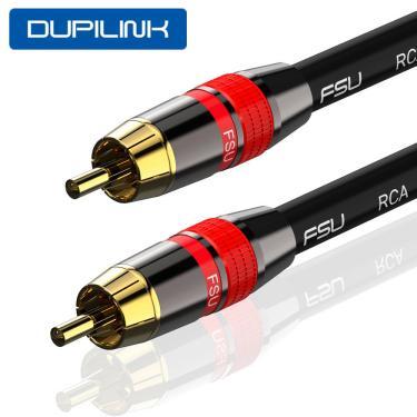 FSU RCA cabo de áudio coaxial macho para macho cabo de sinal para leitor de CD amplificador de alto-falante Banggood
