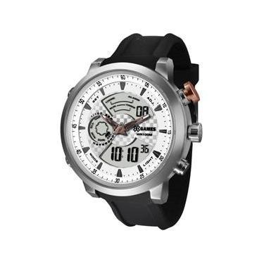 b22977926bb Relógio X-games Masculino Anadigi Xmspa016 S2px Aço Prata