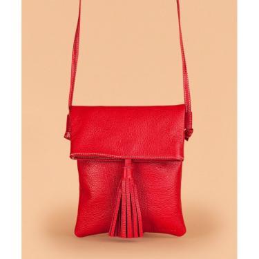 Bolsa Soulier Bolsinha Feliz Vermelho  feminino