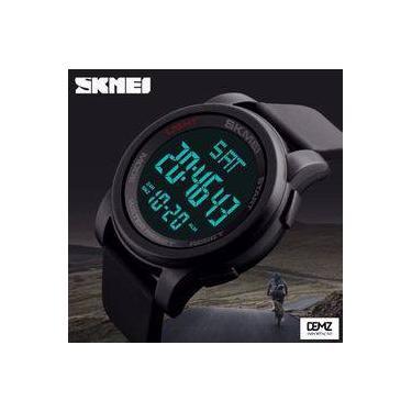 2886d94d222 Relógio Masculino Digital Esportivo Prova D água Skmei 1257