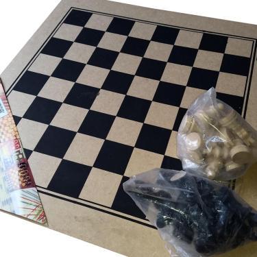 Jogo de Xadrez 45X45 Pangue