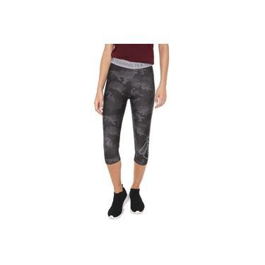 Legging Fila Pants Train Elastic Cinza