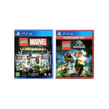 LEGO Marvel Collection + LEGO Jurassic World - PS4
