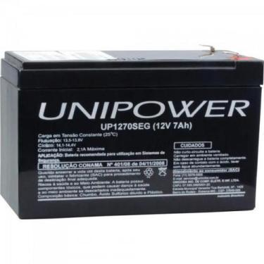 Bateria Selada UP1270SEG 12V/7Ah UNIPOWER