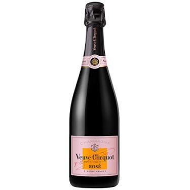 Champagne Veuve Clicquot Rosé Brut 750ml com Cartucho Veuve Clicquot