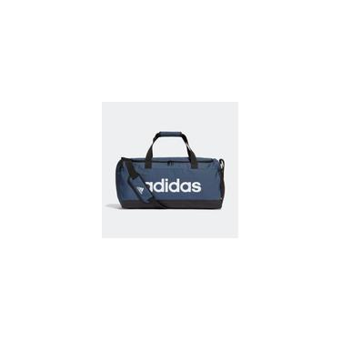 Imagem de Mala Adidas Duffel Linear Logo Média Azul