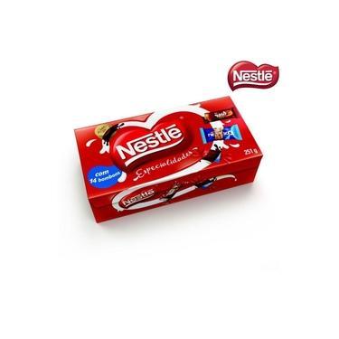 Caixa De Bombons Nestlé Especialidades 251g