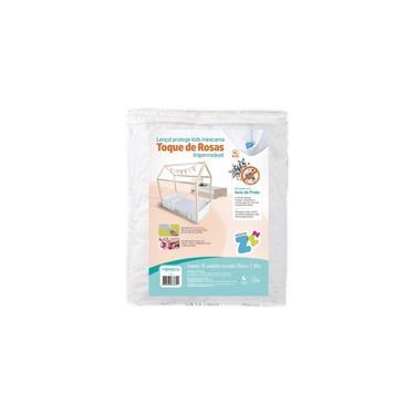 Protetor de Colchão Impermeável Kids Mini Cama 70x150 com Tratamento Íons de Prata Anti Bactericida Fibrasca