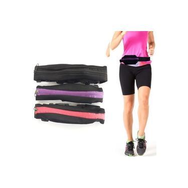 Pochete Pequena Bolsa Feminina Para Corrida Ajustavel Fitness Academia Caminhada