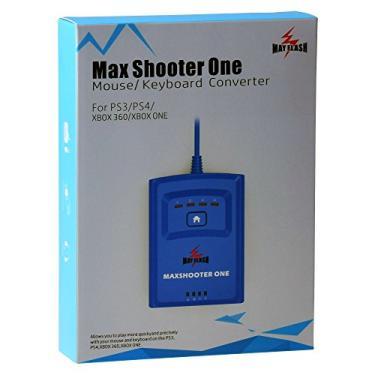 Conversor de teclado Mayflash Max Shooter One Mouse para PS3, PS4, XBOX 360, XBOX ONE