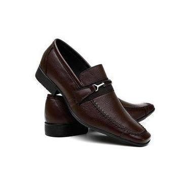 7bff3e8999 Sapato Social Masculino em Couro Legítimo Costura Manual VR