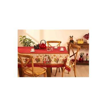 Imagem de Toalha de Mesa Estampada Natal 155 x 250 cm - Lepper