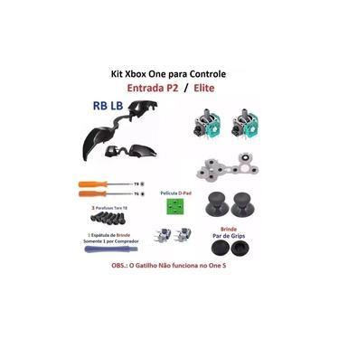Kit peças para Reparo Controle Xbox One P2 / Elite