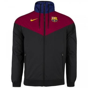 Jaqueta com Capuz Barcelona Nike Sportwear - Masculina Nike Masculino