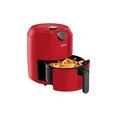 Fritadeira S/ Óleo Arno Airfry Super Vermelha 4.2l 110v Full