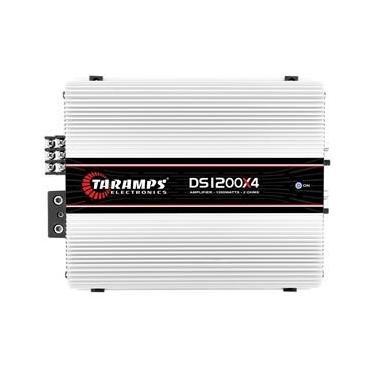 Taramps MÓDULO AMPLIFICADOR TARAMPS DS 1200X4 1200 W RMS 4 CANAIS 300 Módulo Amplificador Taramps Ds 1200X4