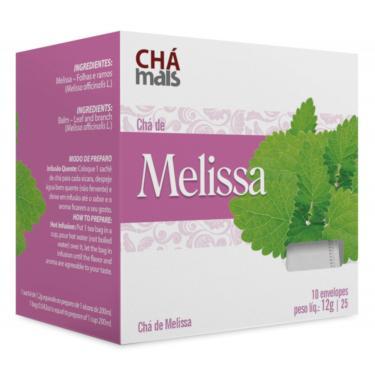 Chá de Melissa Natural 10 Sachês de 1,2g