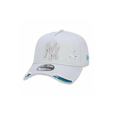 Boné New York Yankees 940 Damage Destroyed Off White - New Era