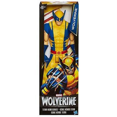 Boneco Wolverine Titan Hero Series 30 Cm Marvel - Hasbro