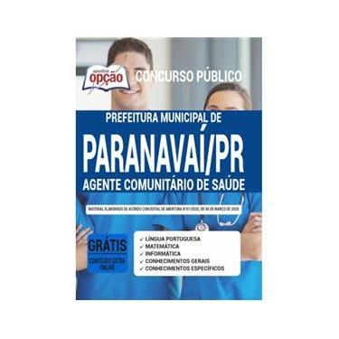 Imagem de Apostila Prefeitura Paranavaí - Agente Comunitário De Saúde