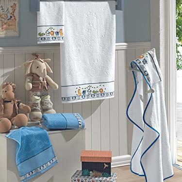 Imagem de Toalha Infantil Dohler Baby Kids 6240 Social azul 6089