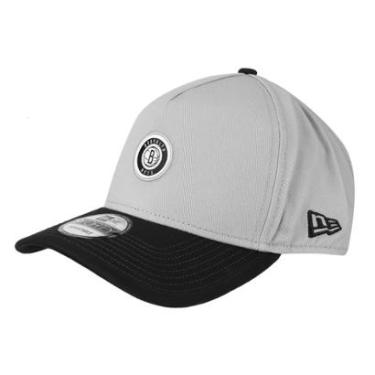 Boné New Era NBA Brooklyn Nets Aba Curva 940 Af SN Gra - Unissex 43e3b9a8422