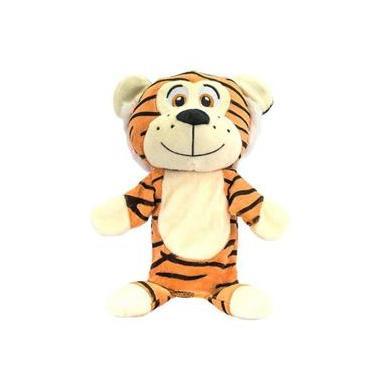 Fantoche De Pelúcia Tigre Safari Unik Toys