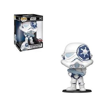 Imagem de Funko Pop Star Wars 391 Stormtrooper Super Sized
