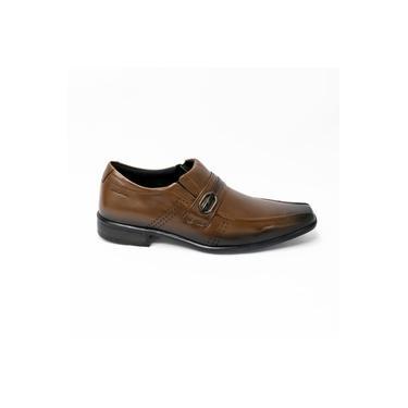 Sapato Pegada 121831 Couro Legítimo Mestiço