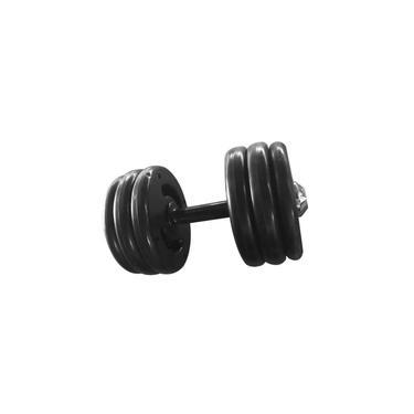 Dumbbell Injetado Pegada Emborrachada Academia Fitness 8kg
