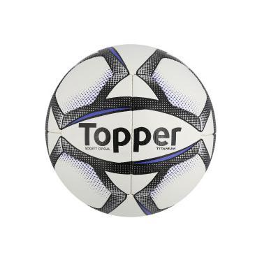 Bola Society Topper Titanium - BRANCO PRETO Topper a41e7e64a9a75