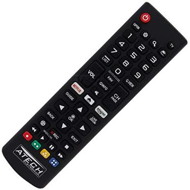 Controle Remoto TV LED LG AKB75095315 com Netflix e Amazon (Smart TV)