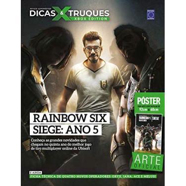 Revista Superpôster Dicas e Truques Xbox Edition Edição 6 - Rainbow Six Siege: Ano 5