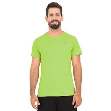Camiseta Running Performance G1 Uv50 Ss Muvin Csr-100 - Verde - G