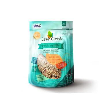Granola sem Gluten sem Adição Açúcar Biomassa Goji Berry Leve Crock 200g