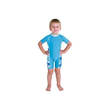 Imagem de Macacão p/ Natação Bestway Careful Swim Suits Azul