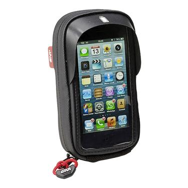 Suporte Smartphone   GPS Givi S955B Iphone 4   4S   5S   5C com Capa 7122b56b23d0e