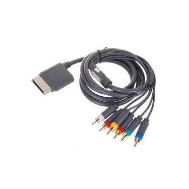 Cabo Componente Tv Audio Video Xbox 360 Av Hd