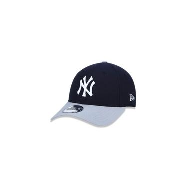 Bone 9forty Aba Curva Ajustavel Mlb New York Yankees Aba Curva Snapback Marinho New Era