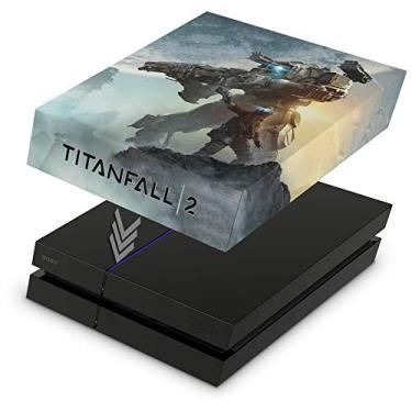 Capa Anti Poeira para PS4 Fat - Titanfall 2#a