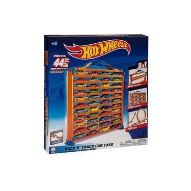 Imagem de Brinquedo Hot Wheels Pista Porta Carrinho 3 Em 1 Fun 84480