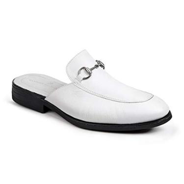 Imagem de Sapato Mule Masculino Sandro Moscoloni Colection Branco (39)