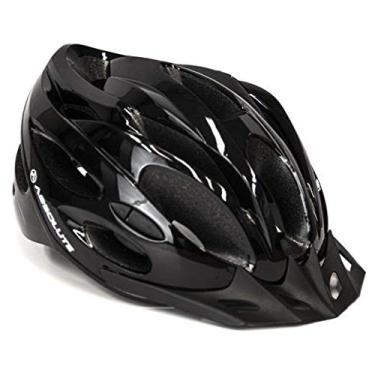 Imagem de Capacete Ciclismo Bike Absolute Nero Wt032 Led Pisca Viseira (Preto M)