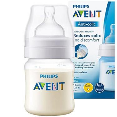 Imagem de Mamadeira Anti-colic Transparente 125ml, Philips Avent, Transparente, 125 ml