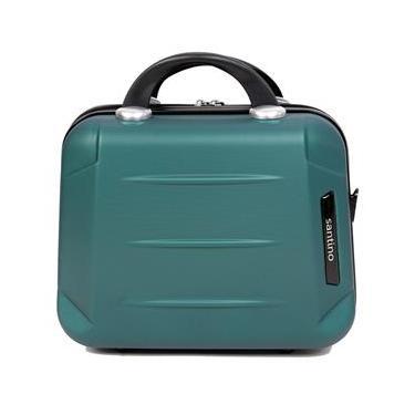 Frasqueira rígida em abs, maleta de mão para viagem, necessaire para maquiagem - Santino