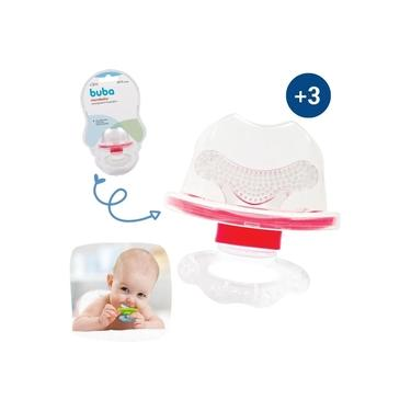 Chupeta Mordedor Massageador Gengiva Mordedor Bebê Alívio Dente