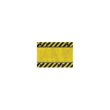 Imagem de Amarelo-preto Zebra Crossing Colorida Toalha de mesa Impermeável Impressão 137*183