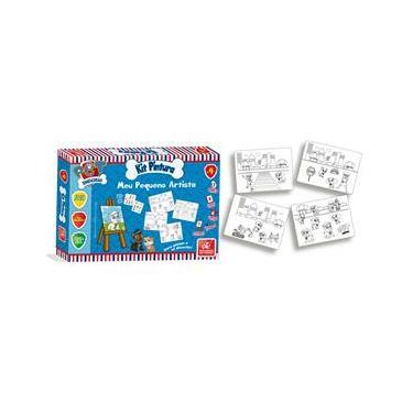 Imagem de Kit Pintura Para Colorir Infantil Mini Cavalete Pet Esquadrão - Brincadeira de criança