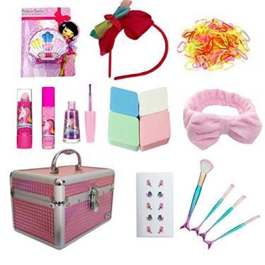 Imagem de Maleta Maquiagem Rubys Infantil Kit Completo Criança + Brindes