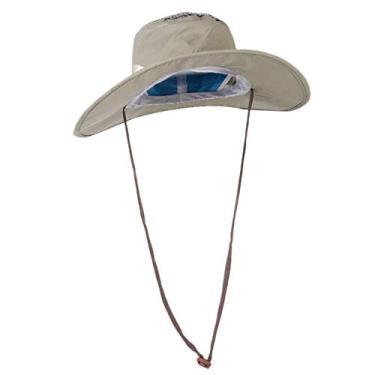 BESPORTBLE Pescador Chapéu de Sol Aba Larga Do Chapéu de Proteção UV de Proteção Solar Boonie Chapéu de Safári para Viagens de Pesca Caminhadas Esportes Ao Ar Livre Suprimentos
